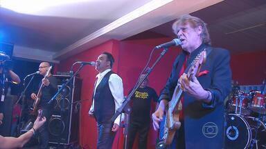 Espaço PE conta trajetória da banda Renato e seus Blue Caps - A banda comemora mais de 50 anos de carreira. Pernambuco é um dos lugares onde o grupo mais se apresentou.
