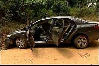 Polícia persegue carro que furou cerco da PRF na BR101 em Linhares, ES - A Polícia Rodoviária Federal descobriu que carro havia sido roubado na Grande Vitória.