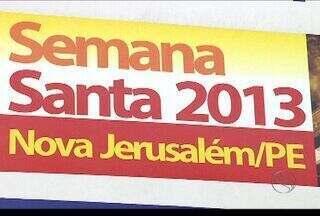 Semana Santa aumenta movimento nas agências de viagens em Sergipe - Até o momento, as agências de viagens já registraram um aumento de 10% na venda por pacotes de turísticos para o periodo da Semana Santa. Principal destino é Nova Jerusalém (PE).