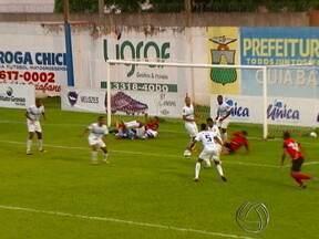 Mato Grosso venceu mais uma no estadual e se mantém na vice-liderança - O Robinho brilhou fazendo os dois gols da partida, mas o dia foi de um jogador bem conhecido, que comemorou uma marca especial na carreira.