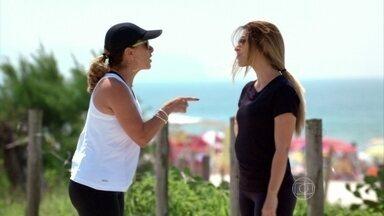 Maitê não acredita que Bianca tenha se desligado de Zyah - Bianca nega que ainda tenha interesse no ex