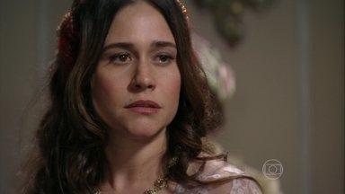 Lado a Lado - capítulo de quarta-feira, dia 27/02/2013, na íntegra - Catarina diz a Laura que só devolverá Melissa em troca de dinheiro