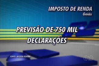 Começa nesta sexta-feira (1) o período para entrega do Imposto de Renda - Em Goiás, a expectativa é que pelo menos 750 mil pessoas façam a declaração. Deve acertar as contas com o leão o contribuinte que em 2012 recebeu R$ 24.556,65 ou mais. Endereço para baixar o programa é o www.receita.fazenda.gov.br.