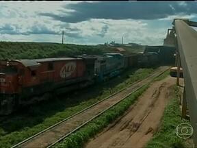 Aumenta a demanda de transporte ferroviário para transporte de grãos no PR e no MT - Com a colheita da safra de grãos, o fluxo de caminhões nas estradas aumentou. No Paraná e no Mato Grosso, a demanda pelo transporte ferroviário também aumentou. O preço é um atrativo para os agricultores.