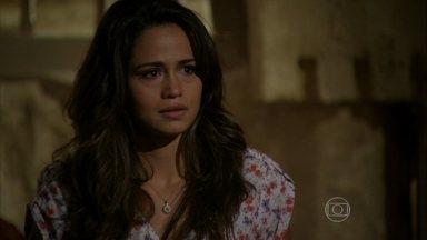 Morena conta sobre Théo para Murat - Ela continua aterrorizando Wanda com mensagens anônimas