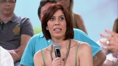 Maria Clara Gueiros prefere passar a lista do supermercado para frente - Atriz diz que demora muito tempo quando vai às compras
