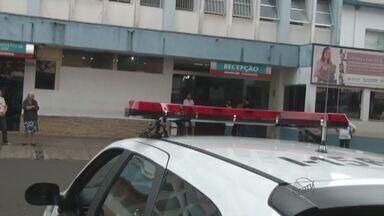 Investigador atira em assaltante em Franca, SP - Assaltante está internado em estado grave na Santa Casa da cidade
