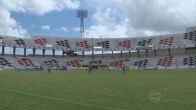 Santa Cruz treina para enfrentar o Central - Jogo será na próxima segunda-feira