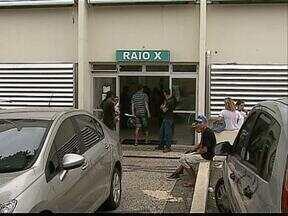 Aparelho de Raio X quebra e pacientes ficam sem exames - O outro Raio X do Hospital Municipal é somente para emergências