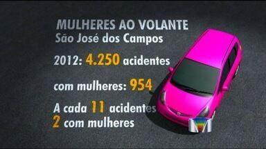 Mulheres se envolvem em menos acidentes em São José dos Campos (SP), diz prefeitura - Esses dados quebram um preconceito, e, para que todos os motoristas sigam pelo mesmo caminho, a cidade fez uma campanha nas ruas nesta sexta-feira, dia Internacional da Mulher.