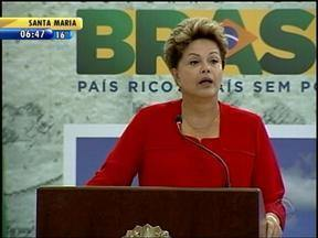 Presidente Dilma Rousseff presta homenagem a secretária estadual do RS que morreu - Corpo da secretária foi sepultado nesa quarta-feira.