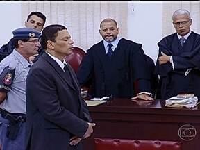Ministério Público vai recorrer da sentença de Mizael Bispo - Mizael Bispo foi condenado a 20 anos de prisão pela morte da advogada Mércia Nakashima. Advogados de defesa e acusação entraram em conflito durante várias vezes ao longo do julgamento. O juiz do caso chegou a se emocionar.