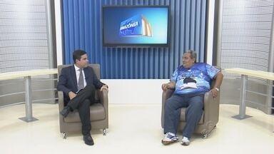 Coordenador do Marujada de Guerra é o entrevistado pelo Amazônia TV - Rogerio de Jesus, fala como surgiu e como o Movimento Marujada se tornou um item oficial do Caprichoso.