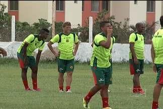 Sampaio terá mudanças para clássico contra o MAC - Partida acontece neste domingo no Estádio Nhozinho Santos