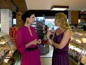 Lizandra Souto toma café da manhã com Angélica em padaria - No bate-papo, atriz conversa sobre família e retomada de sua carreira