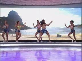 Bonde das Maravilhas requebra no palco do Caldeirão - Grupo é sucesso na internet