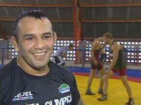 Atleta do AM comemora convocação para a seleção brasileira de luta olímpica - Depois de conquista no Brasileiro, Allan Ferreira foi convocado para a equipe nacional da modalidade.