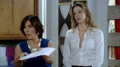Roberta afirma que sua assinatura na procuração é falsa - Felipe fica chocado e Vânia liga para o advogado