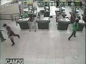 Ladrão de mercado é preso em Francisco Beltrão - Ele foi identificado com a ajuda das imagens do circuito interno