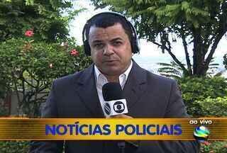 Homens estupram e quebram o braço de mulher no interior de Sergipe - O fato ocorreu neste domingo (17) na cidade de Santa Luzia do Itanhi. A mulher foi arrastada até um matagal onde foi estuprada e teve seu braço quebrado. Confira o balanço das ocorrências policiais deste final de semana.