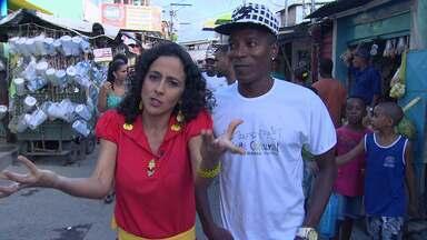 No Mapas Urbanos, a atriz Maria Menezes mapeia o bairro de Fazenda Coutos - Conheça as figuras pitorescas deste bairro