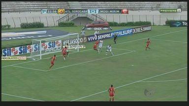 Mogi Mirim vai até Sorocaba e vence por 3x1 pela rodada do Paulistão - Com vitória sobre o Atlético de Sorocaba, o Mogi Mirim venceu e sobiu do sétimo para o quarto lugar da tabela do Campeonato Paulista.
