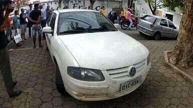 Três pessoas foram vítimas de saidinha bancária em Fortaleza - Três vítimas foram abordadas na mesma tarde.