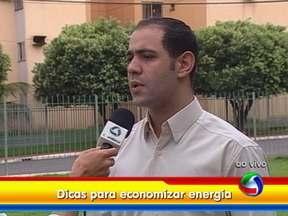 Confira algumas dicas de como economizar energia elétrica - O Bom Dia Mato Grosso traz mais dicas pra economizar energia. O professor de eletrotécnica Diego Henrique de Andrade Santos, do Senai, fala sobre o assunto.