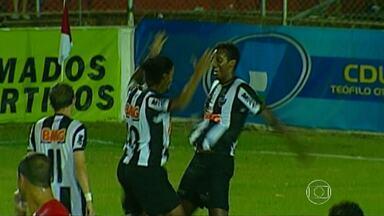 Atlético-MG segue colado no Cruzeiro pela tabela de classificação - Após vitória contra o América de Teófilo Otoni, time diminuiu diferença de pontos no Campeonato Mineiro.