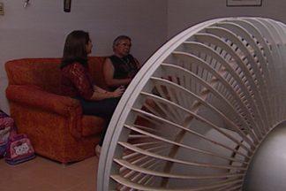 João Pessoa tem noites com temperaturas altas - Calor de 28ºC às 22h tem obrigado muitos pessoenses a deixar o ventilador ligado o tempo todo.