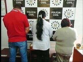 Três pessoas são presas por estelionato em Alegrete, RS - Eles aplicavam golpe do bilhete premiado.