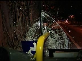 Mais um ciclista é atropelado em São Paulo - A arquiteta, Renata Minervo, de 25 anos foi atingida por um ônibus e está internada. Segundo testemunhas, a jovem atravessou na frente do ônibus, que estava em alta velocidade.