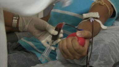 Pouca doação de sangue nos feriados preocupa Hemoce - Três feriados em 15 dias provoca queda no número de doações.