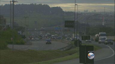 Confira as informações do trânsito na região de Campinas manhã desta sexta-feira (22) - Confira as informações do trânsito na região de Campinas manhã desta sexta-feira (22).