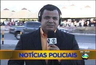 Arrastão em terminal de ônibus termina em roubos, furtos e feridos em Aracaju - Cerca de 20 homens fizeram um completo arrastão no terminal do DIA na noite desta quinta-feira (21) em Aracaju. Com muita algazarra e ousadia, os suspeitos após os roubos se espalharam e fugiram. Confira a ronda policial de hoje (22).