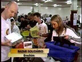 Divulgado o resultado do bazar solidário realizado pelo Rotary Club de Erechim, RS - O dinheiro foi revertido para compra de materiais como cadeiras de rodas.