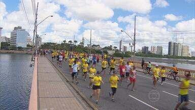 Décima edição da Corrida das Pontes tem um pernambucano como vencedor - Foram mais de sete mil inscritos e as ruas do centro do Recife ficaram em festa.