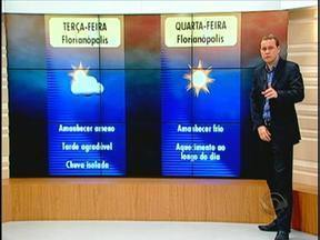 Confira a previsão do tempo com Leandro Puchalski - 25/03/2013 - Confira a previsão do tempo com Leandro Puchalski - 25/03/2013