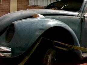 Encontrado carro com peças retiradas em Erechim, RS - Carro teria sido furtado na terça-feira (19).