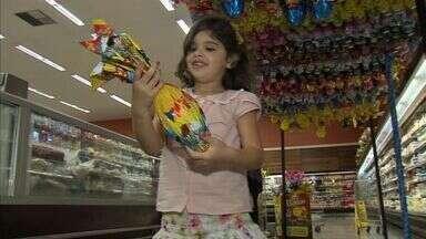 Supermercados esperam aumentar as vendas nesta Páscoa - Shoppings apostam em programações diferenciadas para crianças.