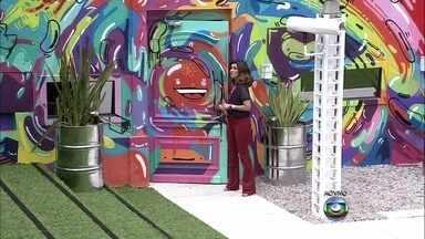 Fátima Bernardes sai do estúdio rumo à casa do BBB - Apresentadora mostra os bastidores do Projac