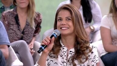 Nívea Stelmann começou carreira após concurso na TV - Atriz ganhou a oportunidade no 'Domingão do Faustão'