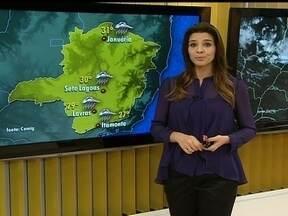 Previsão é de chuva para Belo Horizonte nesta quarta-feira (27) - A máxima na capital mineira deve ficar em torno de 32ºC.