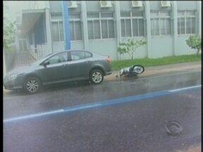 Temporal causa prejuízos a moradores de Criciúma - Temporal causa prejuízos a moradores de Criciúma