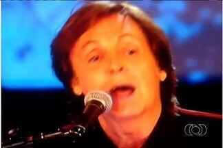 Definidos preços dos ingressos do show de Paul McCartney em Goiânia - A organização do show do cantor Paul McCartney em Goiânia divulgou o valor dos ingressos nesta quarta-feira (27). O convite mais caro custa R$ 600 e a área mais barata sai por R$ 160.