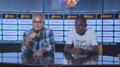 Meia Hugo pede para deixar o Sport - Jogador diz que tem proposta de um clube da Série A