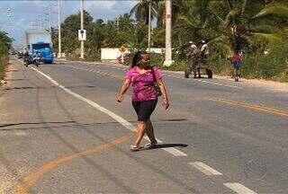 Imprudência de motoristas tem causado acidentes na Zona de Expansão de Aracaju - Diante dos acidentes que acontecem na região, moradores recorrem ao Ministério Público Estadual para implantação de redutores de velocidade.