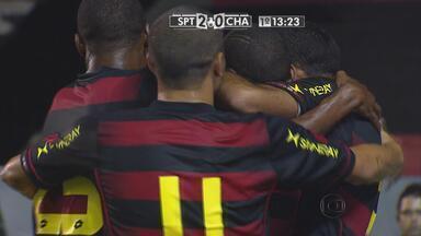 Os gols de Sport 5 x 0 Chã Grande pela 9ª rodada do 2º turno do Pernambucano - Leão goleia na Ilha do Retiro e está na vice-liderança