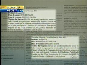 Vereadores devolvem diárias usadas para entrega de convite a cidade vizinha de Joinville - Vereadores devolvem diárias usadas para entrega de convite a cidade vizinha de Joinville
