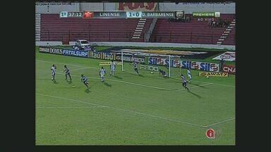 União Barbarense vai até Lins e vence o Linense de virada - Com um placar de 3x2, o União Barbarense venceu o Linense de virada pela rodada do Campeonato Paulista.